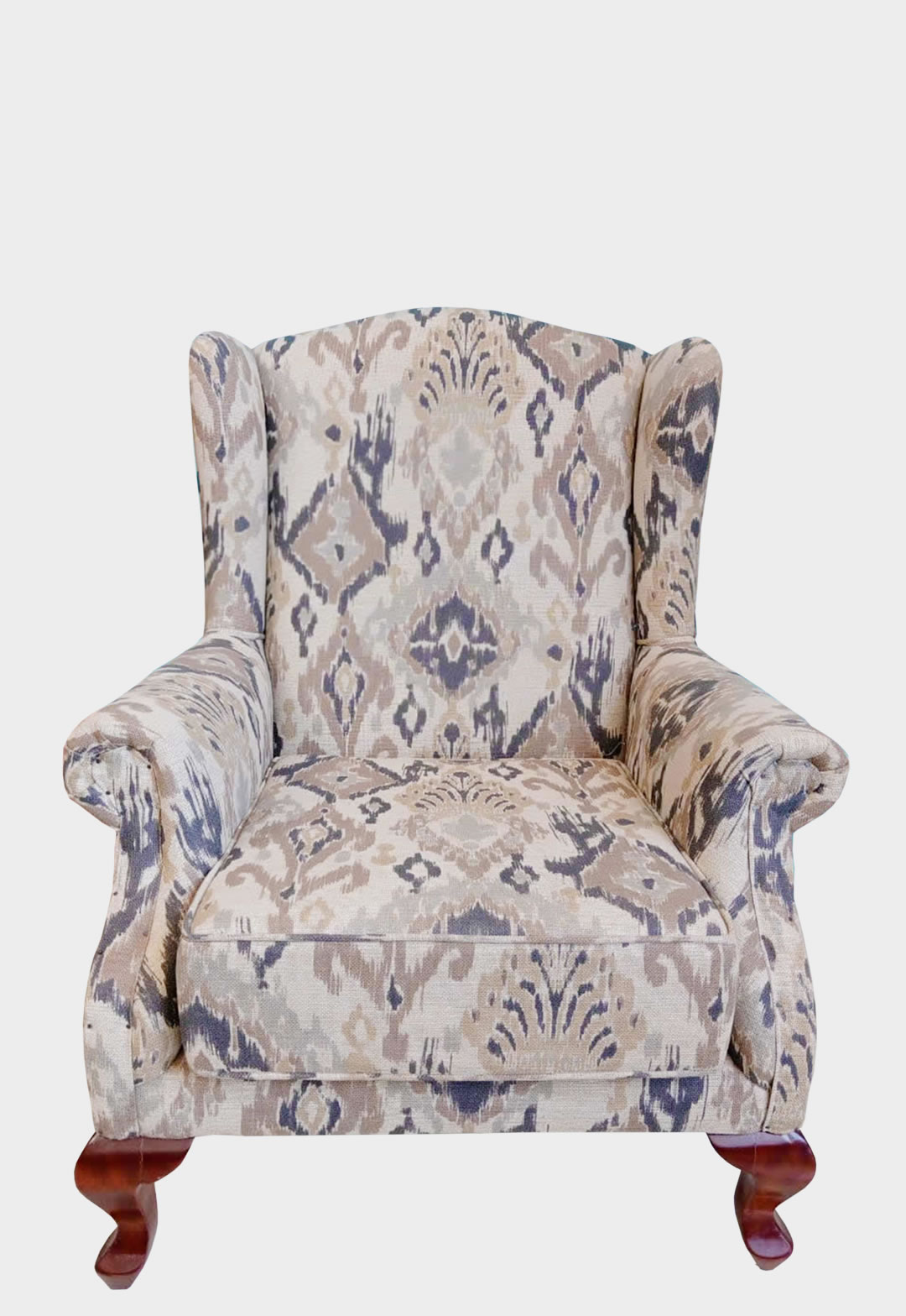Picture of: Accent Chair Pattern Fabric Hudson Furnishing
